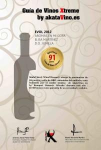 91 puntos guia de vinos xtreme akatavino